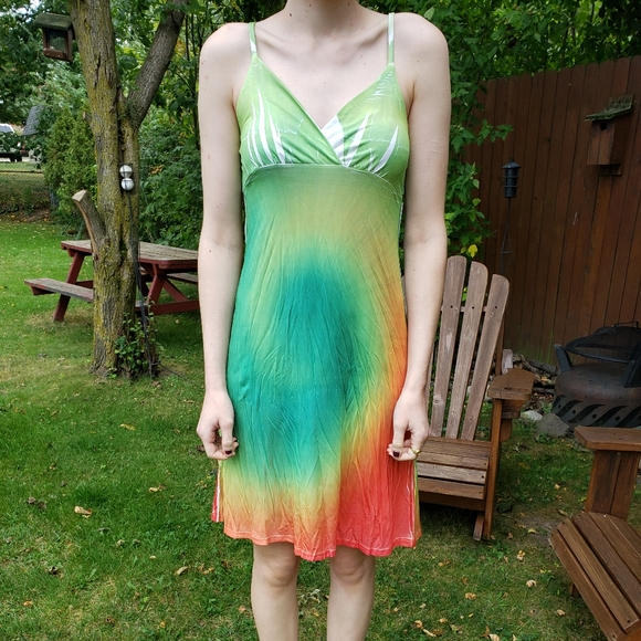 Cyn by Cynthia Mehra Other - Bright Bathing Suit Coverup!